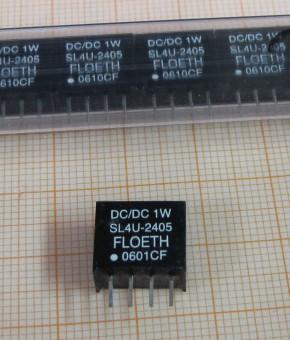 FLOETH SL4U-2405 DC/DC- Wandler 1W