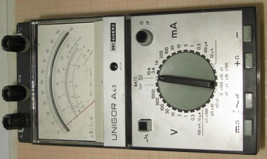 BBC GOERZ UNIGOR A43 Multimeter 100kOhm/V