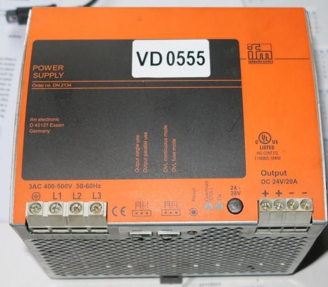 400V  nach 24V 20A Netzgerät von IFM Germany