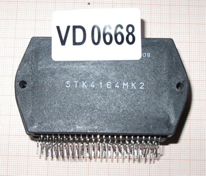 STK 4164MK2  Hybrid Verstärker 2 x 35W