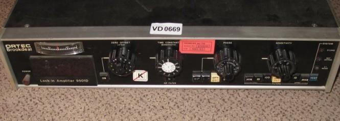 ORTEC 9501D Lock-In Verstärker  Brookdeal