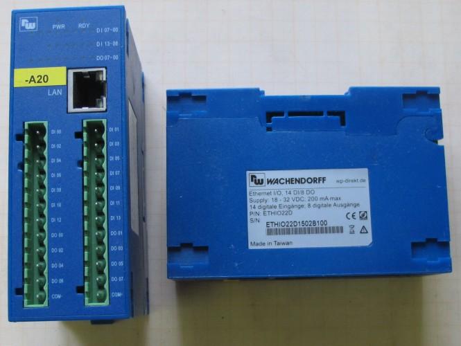 ETHIO22D Ethernet I/O Wachendorff